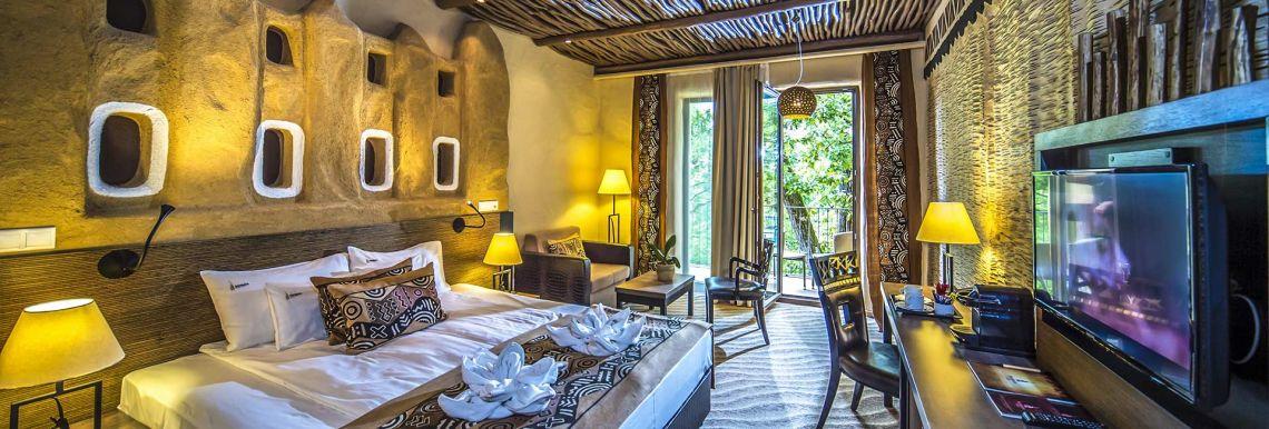 Afrikai Prémium Szoba - Varázslatos Bambara Hotel**** Felsőtárkány