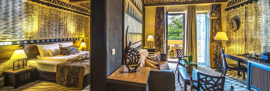 Afrikai Grand Lakosztály - Varázslatos Bambara Hotel**** Felsőtárkány