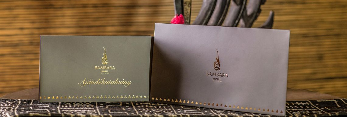 Bambara ajándékutalvány - Varázslatos Bambara Hotel**** Felsőtárkány