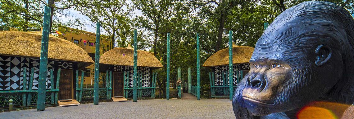 Africký bungalow - Varázslatos Bambara Hotel**** Felsőtárkány